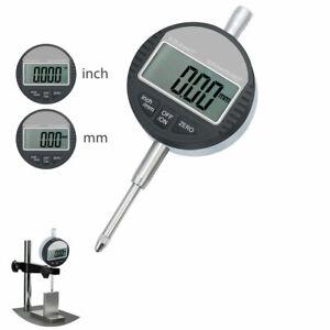Digital-Precision-Outil-0-01mm-Mesure-Comparateur-Indicateur-a-Cadran-Jauge-Test