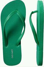 OLD NAVY WOMEN'S FLIP FLOPS, Size 10 Green