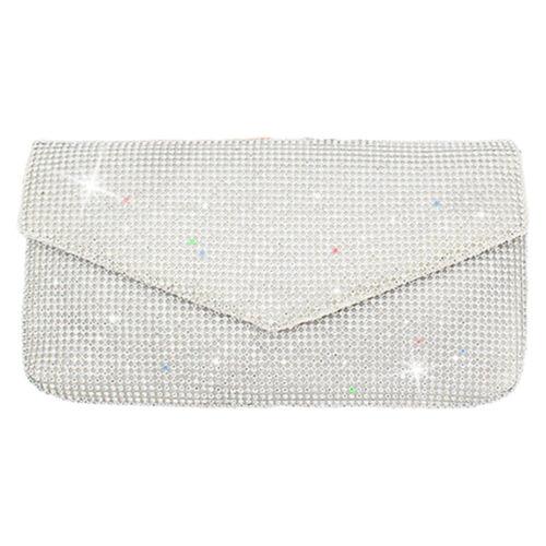 New Diamond Rhinestones Crystal Clutch Evening Bag Wallet Purse Banquet Handbags