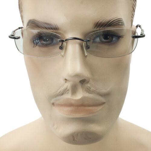 Flexible Rimless Eyeglasses Clear Lens Women Men Glasses Frame Vintage Eyewear