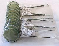 Decorative Bouquet Artificial Lime Slice Fruit Floral Arrangements Lot Of 30