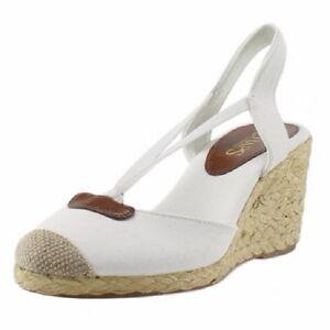 Chaps Shoes New Espadrille Clarisa Ladies Canvas Variet dnqAxw48Ap