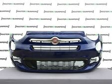 FIAT 500X 2016-2018 FRONT BUMPER IN BLUE GENUINE [F171]