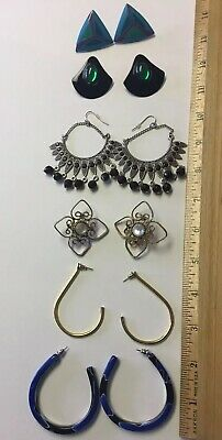 Vntage Earrings LOT Huge Variety 32 Pairs Total 4.28.1