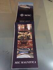 Piano Nave Msc Magnifica Crociere Cruise Mappa