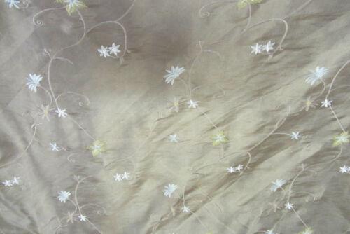 Aceite de oliva Bordado En Seda de imitación curtain//craft Tela