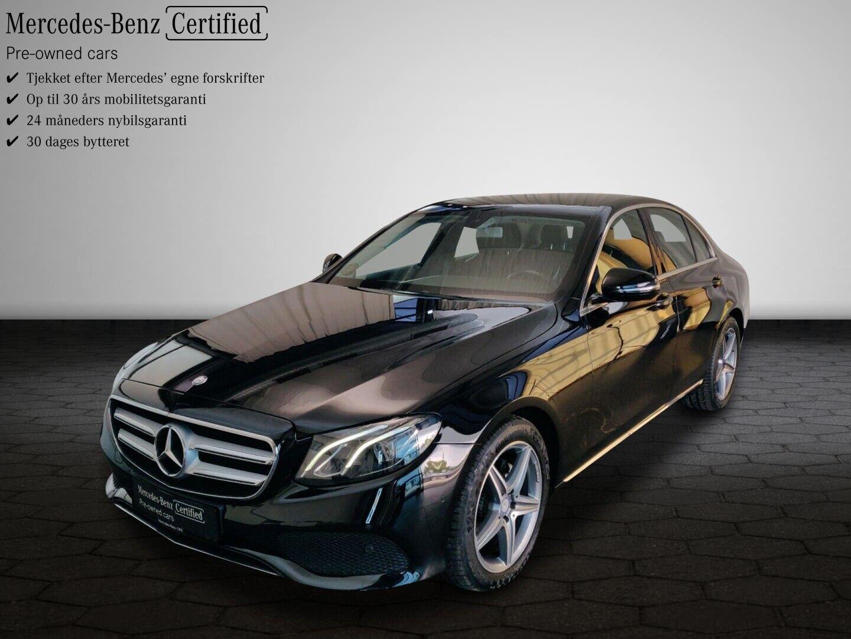 Mercedes E220 d 2,0 Avantgarde aut. 4d - 384.900 kr.