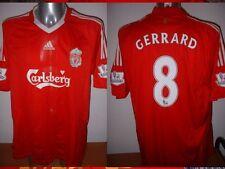 Liverpool Adidas Gerrard Shirt Jersey Soccer Football Adult Small England Trikot