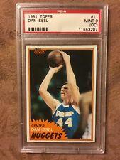 1981 Topps Dan Issel #11 Basketball Card