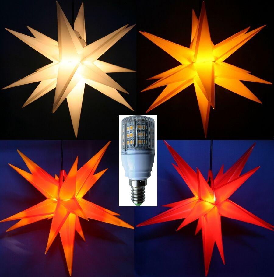 3D LED Adventsstern 40cm Außenstern außen Stern Adventstern Weihnachtsstern