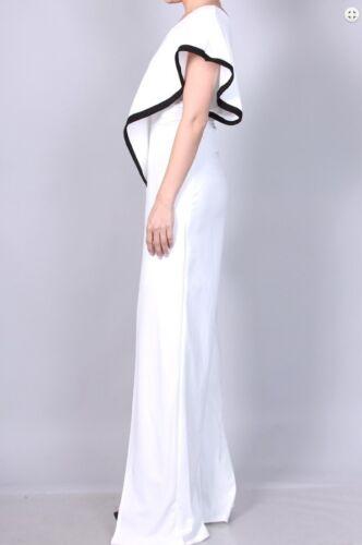 nera gamba bianca larga vestito e gamba con con Pantalone larga a xOSaOv