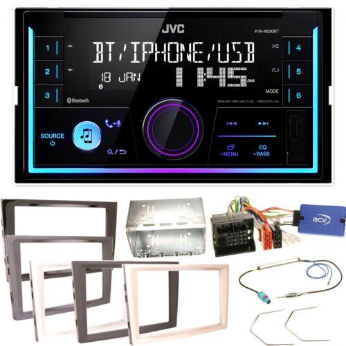 JVC kw-x830bt Bluetooth kit de montage pour Opel Astra H Corsa D Zafira B Antara