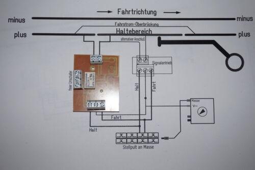 Fernschalter mit ABC-Bremsmodul zum Nachrüsten bestehender Form-Signale