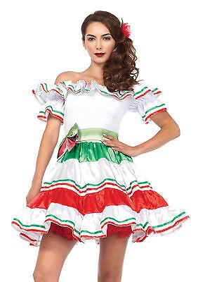 Sexy Halloween Adult Leg Avenue Women's Sultry Senorita Latina Girl Costume