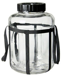 Kegco-7-Gallon-Wide-Mouth-Glass-Carboy-Fermenter-Homebrew-Beer-amp-Wine-Making