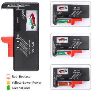 Battery Volt Tester Electricity Measuring Instrument Voltage Checker BT-168