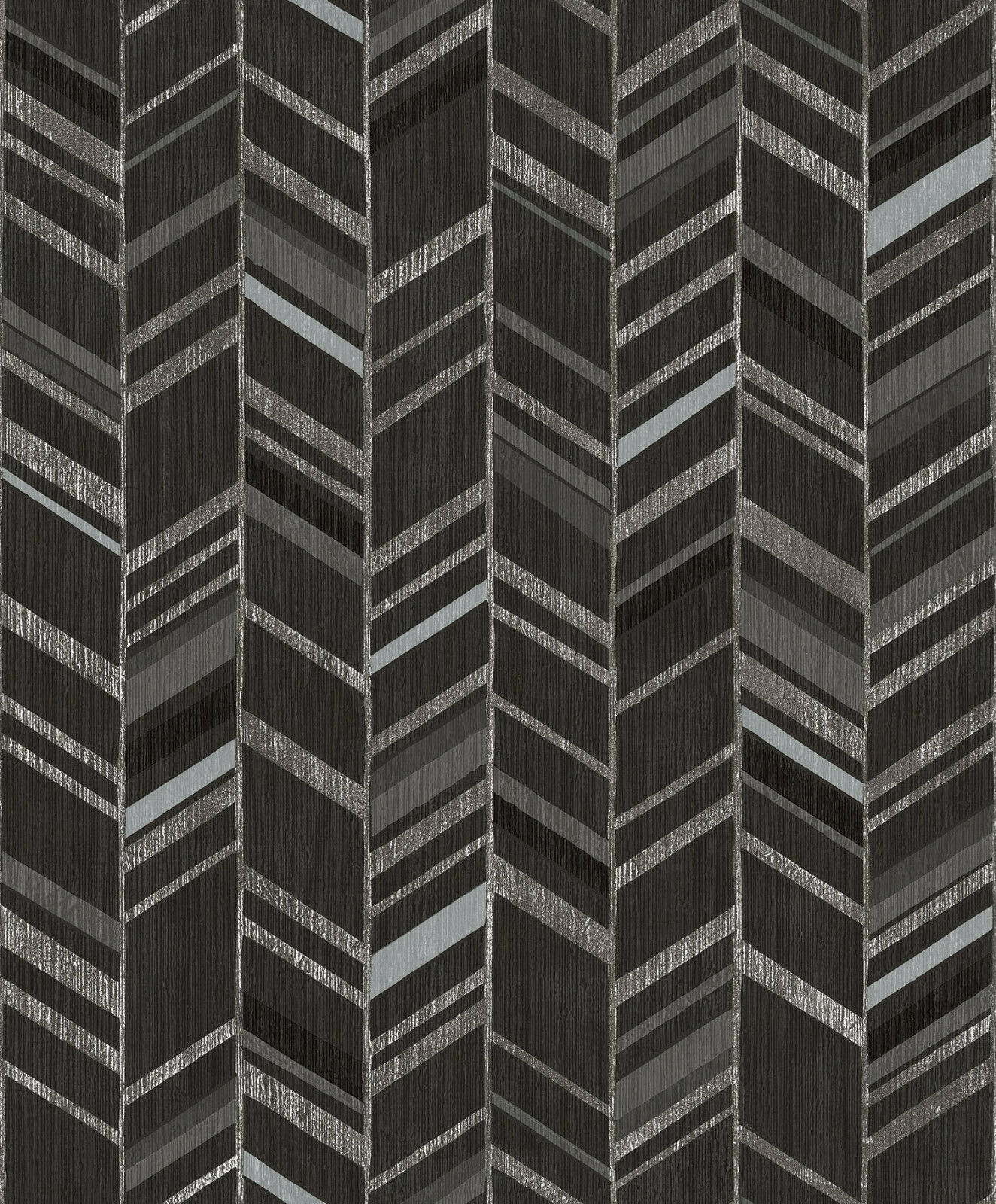 Essener Tapete Special Fx G67716 Zig Zag Federoptik Vinyl Fleece Wallpaper