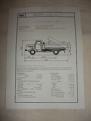 Ddr Ddr Werbung Reklame Prospekt Datenblatt Dreiseitenkipper S 4000 Veb Werdau 1981 Fortgeschrittene Technologie üBernehmen
