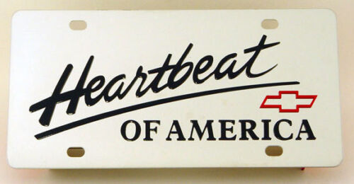 304 Stainless Steel License Plate  Heartbeat of America
