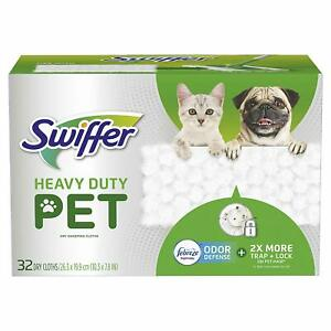 Swiffer-Sweeper-Pet-Heavy-Duty-Dry-Sweeping-Cloth-with-Odor-Defense-32-Count
