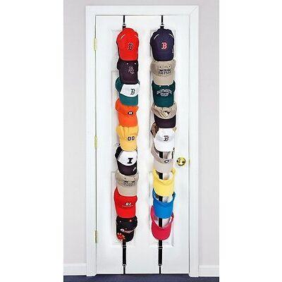 Baseball Cap Rack Hat Holder Rack Home Organizer Storage Door Closet Hanger CA