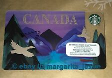 "STARBUCKS CANADA EXCLUSIVE GIFT CARD ""CANADIAN GEESE"" 2016 NEW NO VALUE #6130"