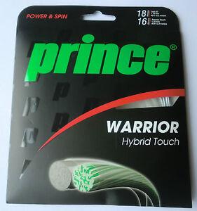 Le Prince Guerrier Hybride Tactile Tennis Chaîne Set-afficher Le Titre D'origine
