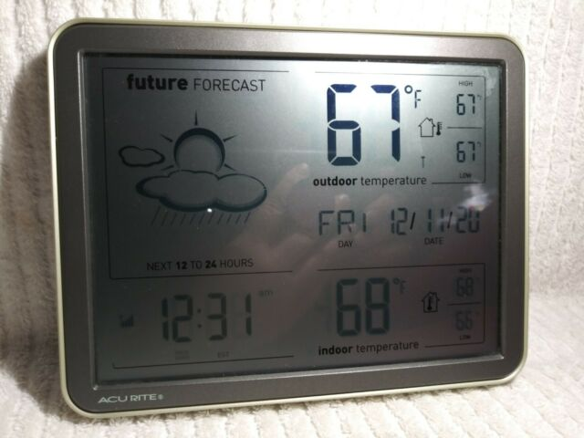 ACURITE MY BACKYARD WIRELESS WEATHER FORECASTER COLOR ...