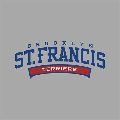 Francis NY Terriers #2 NCAA College Vinyl Decal Sticker Car Window Wall St