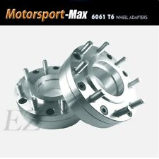 2 Wheel Adapters 6x55 To 8x170 Ford Super Duty Wheel On 6 Lug Chevy Hub Centric