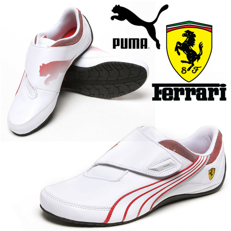PUMA homme F1 Drift Cat 3 Ferrari Trainers Motor Sports F1 homme Scuderia blanc chaussures 0cf061