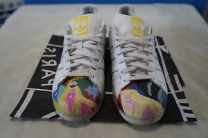 pretty nice 319ed 3fa7b Details about Adidas Superstar x Pharrell Williams x Todd James  White[s83356] Men's Size: 10.5