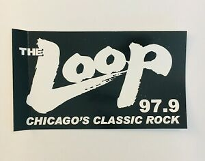 WLUP The Loop Chicago Chicago/'s Classic Rock radio station Sign