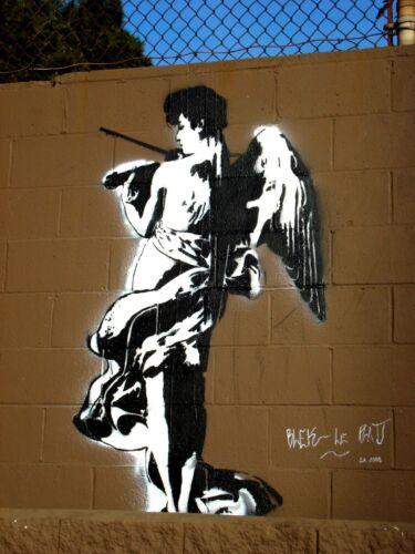 BLEK Le Rat Graffiti Photoprint scelta di immagini Adesivo ironon trasferire