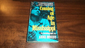 a review of anne moodys coming of age in mississippi Coming of age in mississippi (sparknotes literature guide) and over one million other books are available for amazon kindle and over one million other books are available.