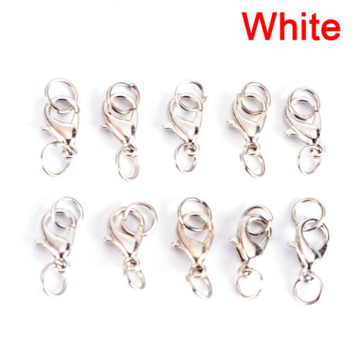 20PC//Set Alloy Lobster Clasps Claw Jewelry Hook Making DIY Necklace Bracelet J/&C