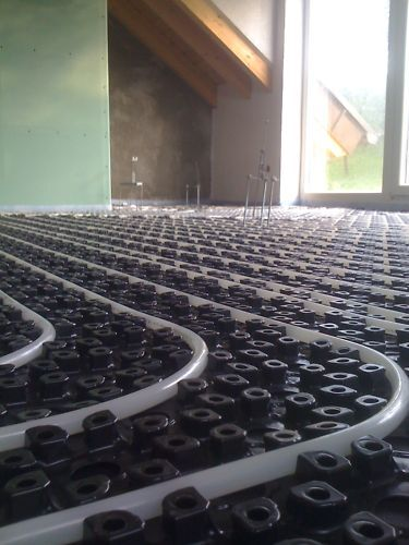 50m² Dünnbettfußbodenheizung Mininopp Aufbau ab 20mm