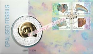 PNC-Australia-2020-Opalised-Fossils-Medallion-Coloured-Limited-Edition-1200
