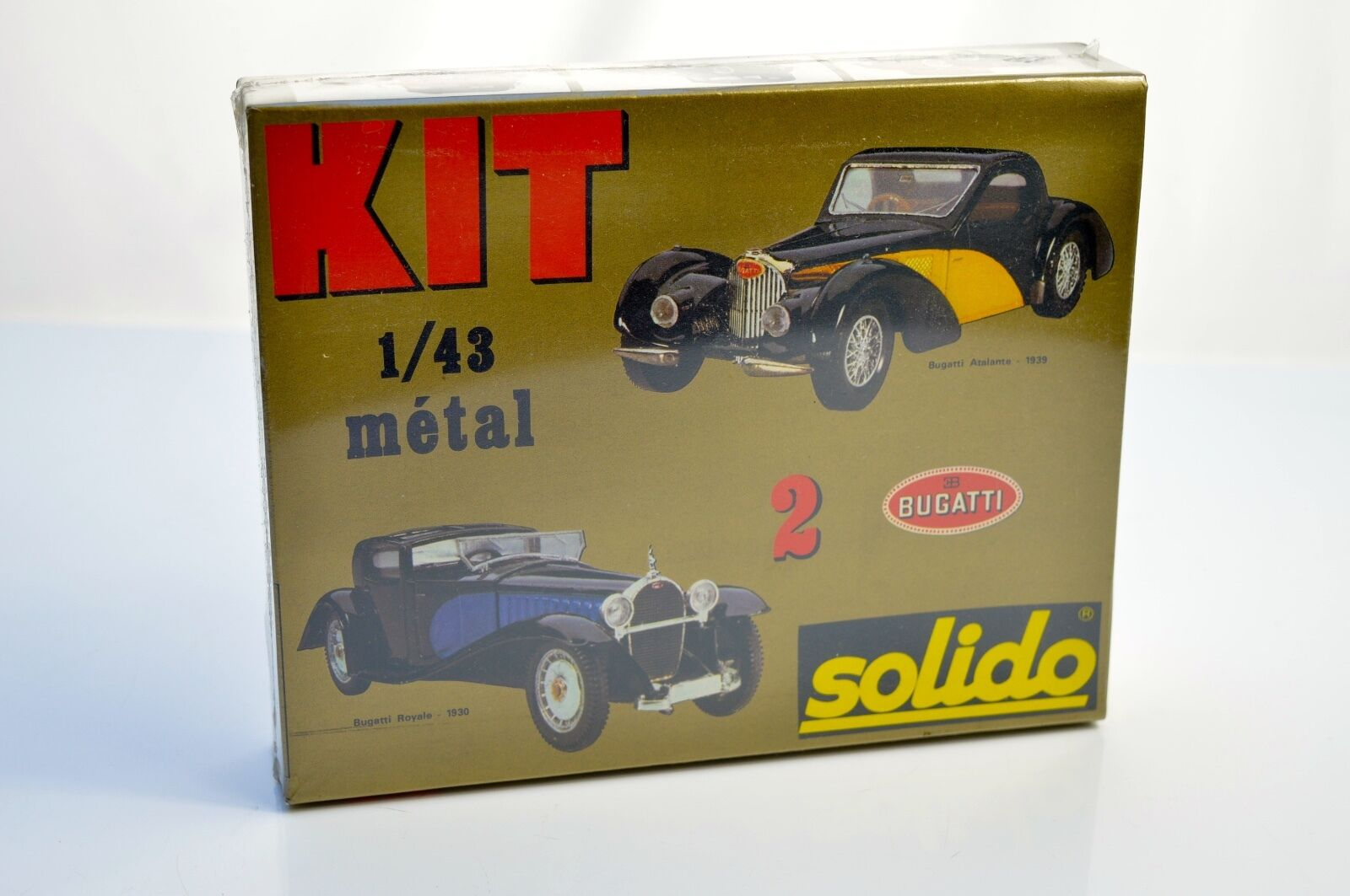 SOLIDO 5401 BUGATTI TWIN   KIT