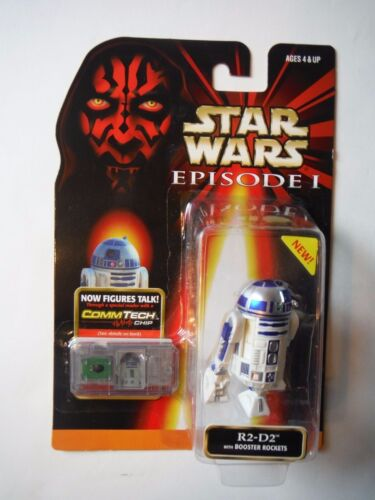 R2-D2 with Booster Rockets 1998 The Phantom Menace Episode 1 Star Wars