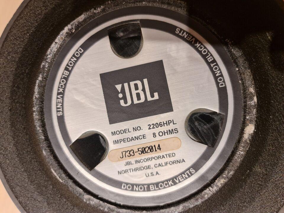 Højttaler, JBL, 2206HPL