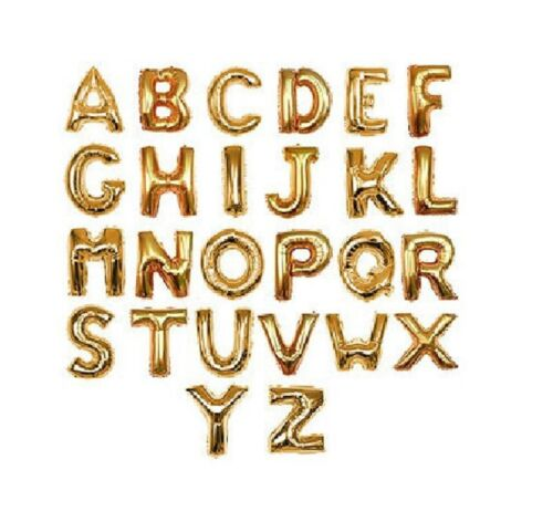"""16/"""" a-z /& 0-9 lettre nombre ballons foil alphabet anniversaire nom fête anniversaire"""
