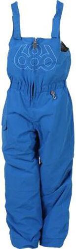 L Blue 686 Boys Recess Bib Snowboard Pant