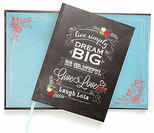 Paper House DREAM BIG 6x8 JOURNAL scrapbooking (180) Lined Pages
