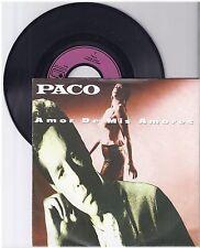 "Paco, Amor de Mis Amores, mit Promo Info Blatt, G/VG  7"" Single 999-538"