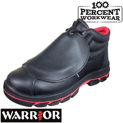 Pro Welders Welding Fabrication Work Safety Boots Metatarsal Protection Steel