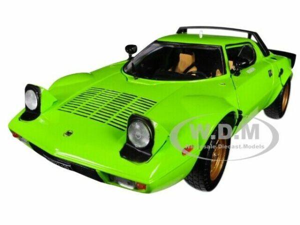 1:18 Sun Star Lancia Stratos Stradale 1975 Black New en Premium-modelcars