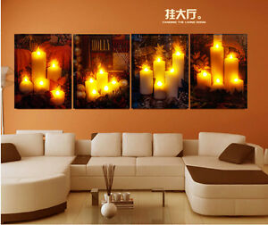 Hot Illuminated Led Lighting Wall Art With Timer 3d Effect