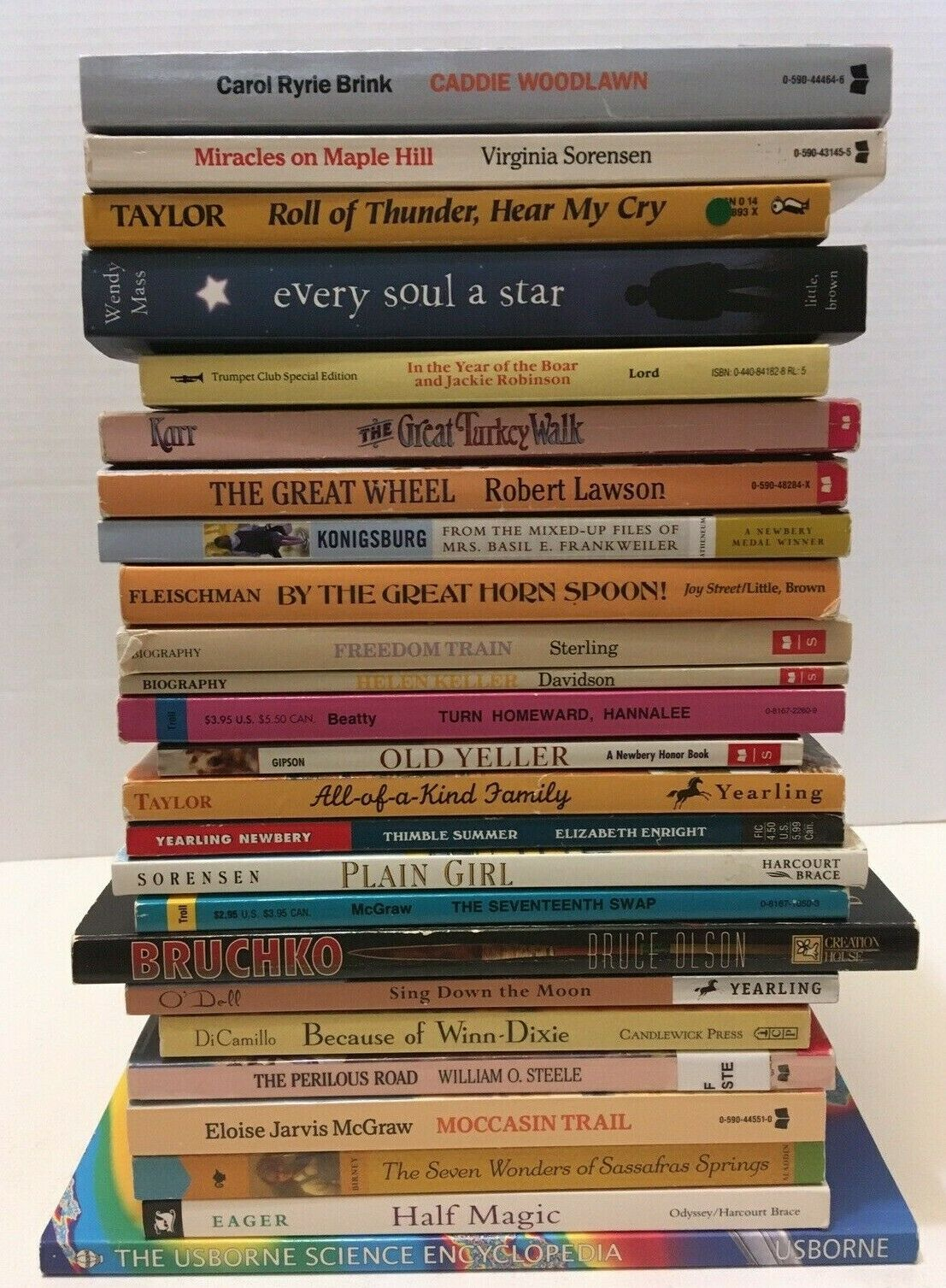 Lot of 25 SONLIGHT Core E Books American History Readers Read Alouds Science 2