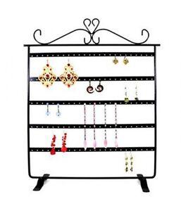 Porte bijoux présentoir boucles d oreilles cadre à 5 rangs (60 ... 796edd6078d